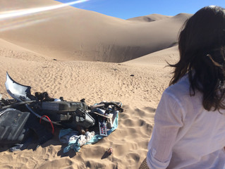 KYMA News Captures Deep Six Crew as they Complete Filming in the Sand Dune Desert