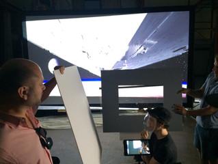 Backer BTS Gallery #2 - Rear Projection Test