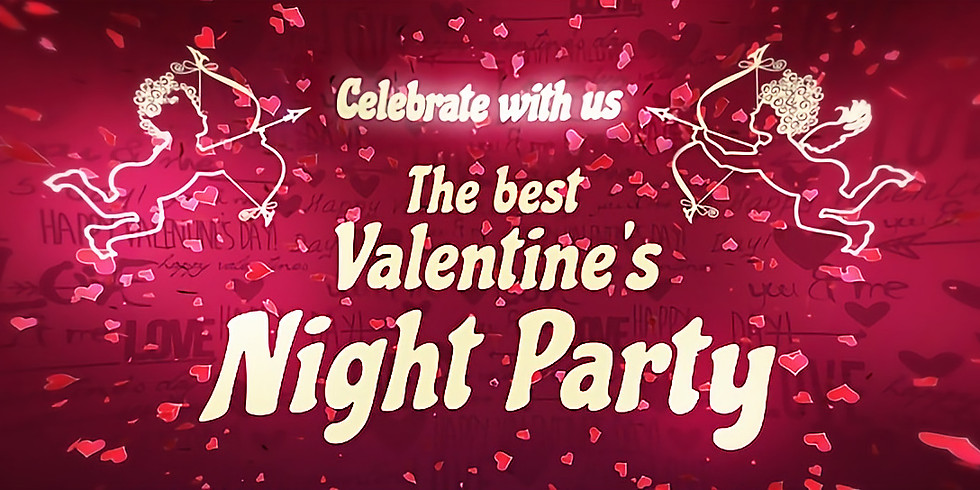 Valentine's Night Party with BentPeter & DJ Vision 1