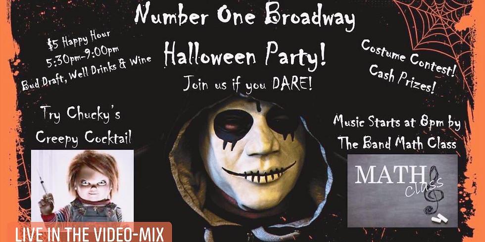 Halloween Spooktacular w/ Math Class and DJ Vision 1