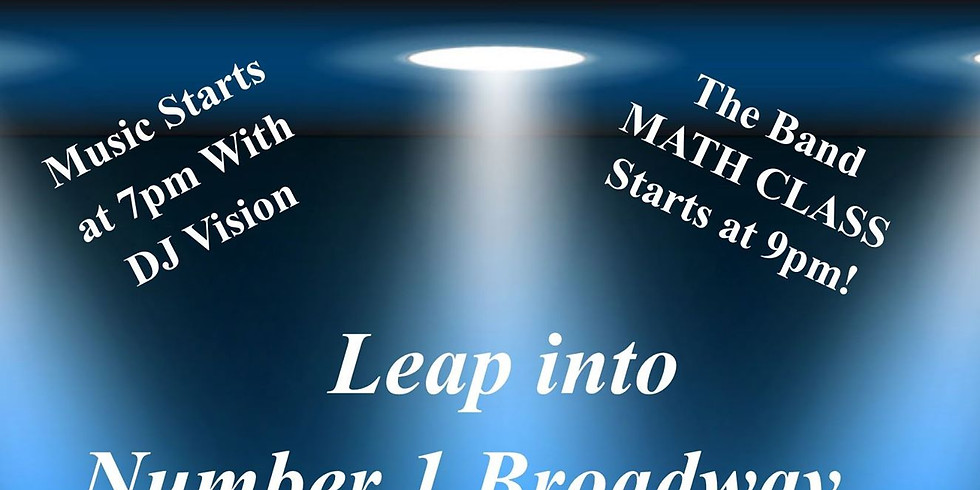 LEAP YEAR PARTY!  Math Class & DJ Vision 1 (Band and a DJ)