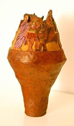 Roman Villa Vase