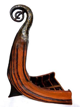 Viking Stern Sculpture