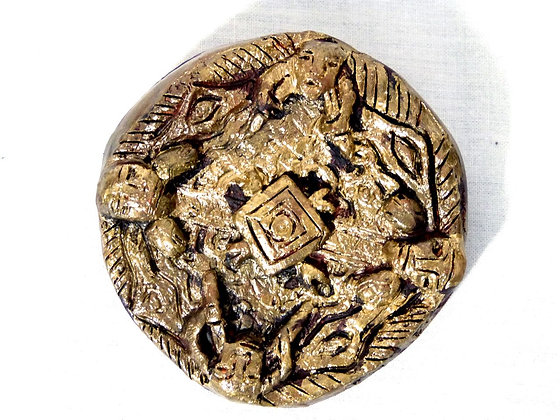 Viking Shield Brooch