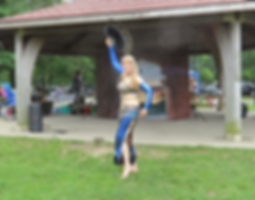 2019-07-13 Naema peacock fan dance