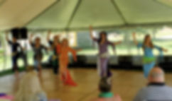 2019-06-23 Troupe Mirage Performing at F