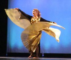 Khadija with Isis Wings
