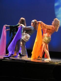 Veil Dance at Multicultural Festival