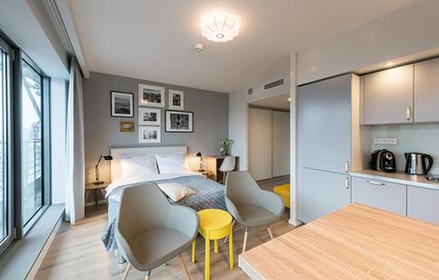 Projekt mini apartamentu pod wynajem ExclusiveWorld [Wrocław]