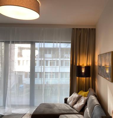 Projekt mieszkania pod wynajem [Warszawa]