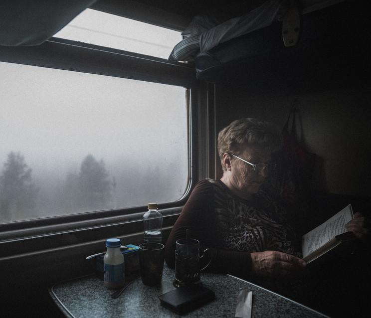 Lecture dans le brouillard