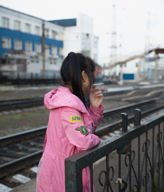 Cigarette à la gare