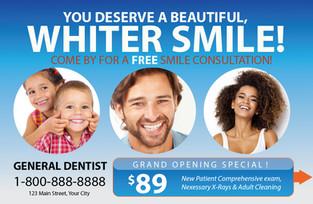 Dental Direct Mail Postcard Sample 04