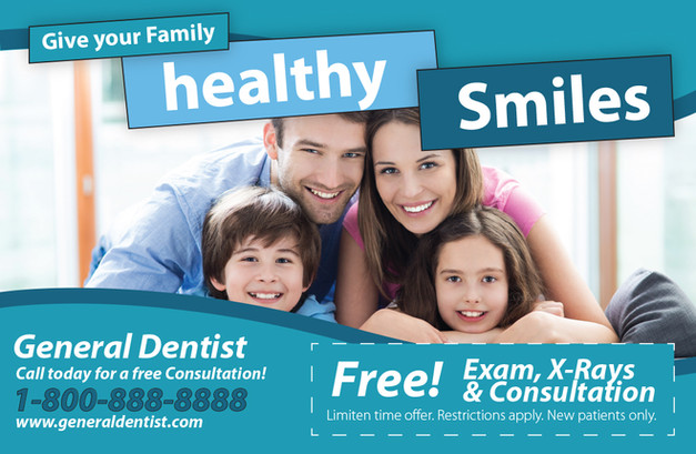 Dentistty Direct Mail Postcard Sample 13