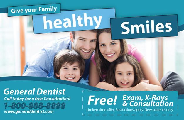 Dentistty Direct Mail Postcard Sample 13