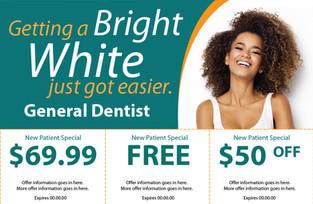 Dentist Direct Mail Postcard Sample 09