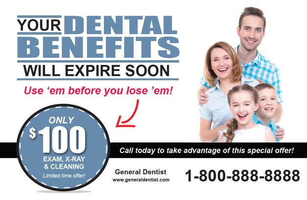 Dentist Direct Mail Postcard Sample 10