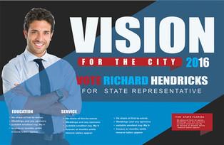 Political Campaign Direct Mail Postcard Sample 05