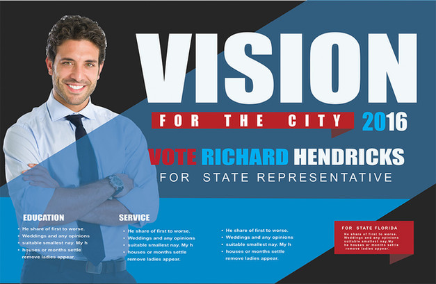 Political Campaign Direct Mail Postcard Sample 05
