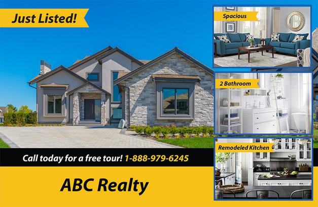 Real Estate Direct Mail Postcard Sample 08