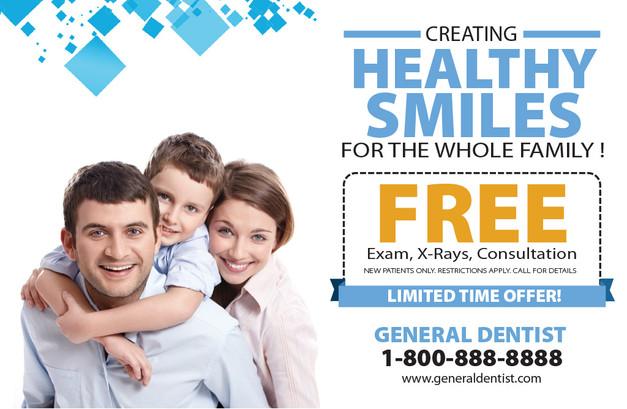 Dentist Direct Mail Postcard Sample 11