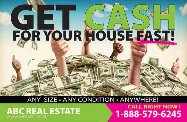 Real Estate Investment Direct Mail Postcard Sample 04