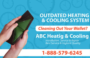 A/C Heating Direct Mail Postcard Sample 01