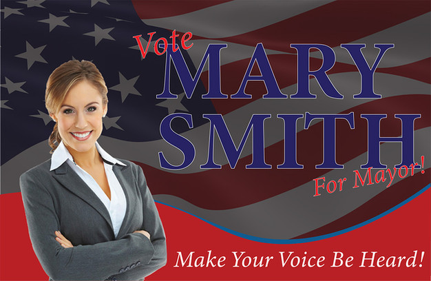 Political Campaign Direct Mail Postcard Sample 03