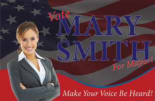 Political Campaign Direct Mail Postcard Sample 03