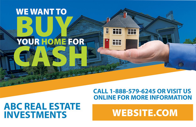 Real Estate Investment Direct Mail Postcard Sample 02