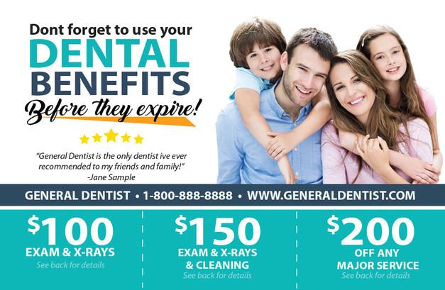 Dental Direct Mail Postcard Sample 02