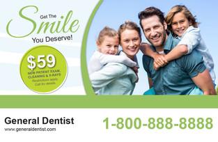 Dental Direct Mail Postcard Sample 03