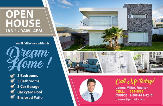 Real Estate Direct Mail Postcard Sample 06