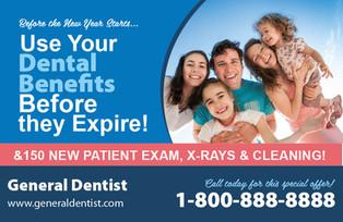 Dental Direct Mail Postcard Sample 05