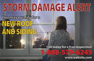 Roofing Direct Mail Postcard Sample 07