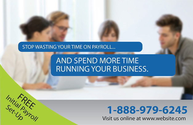Accounting Direct Mail Postcard Sample 07