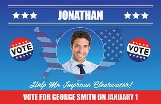 Political Campaign Direct Mail Postcard Sample 08