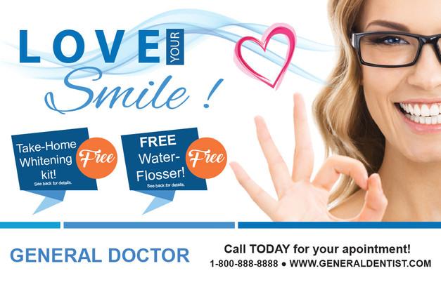Dentist Direct Mail Postcard Sample 08