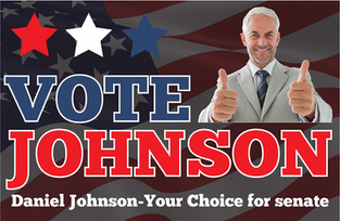 Political Campaign Direct Mail Postcard Sample 06