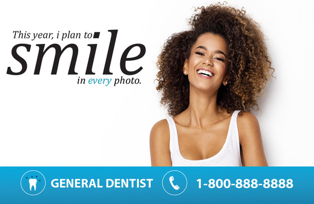Dentistty Direct Mail Postcard Sample 14