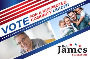 Political Campaign Direct Mail Postcard Sample 01