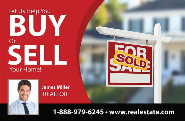 Real Estate Direct Mail Postcard Sample 12