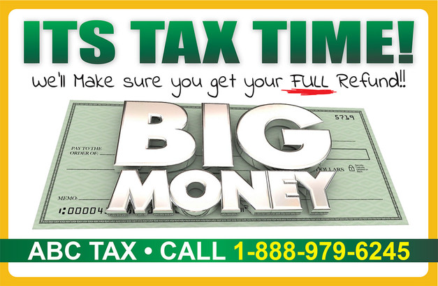 Accounting Direct Mail Postcard Sample 02