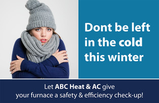 A/C Heating Direct Mail Postcard Sample 04