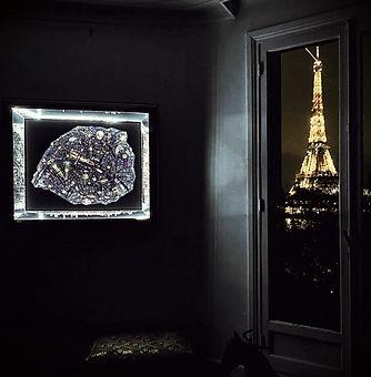 cadre lumineux 3D