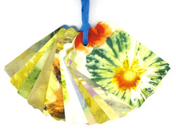 Ecoprinted Gift Tags 1