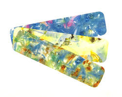 Ecoprinted Bookmarks