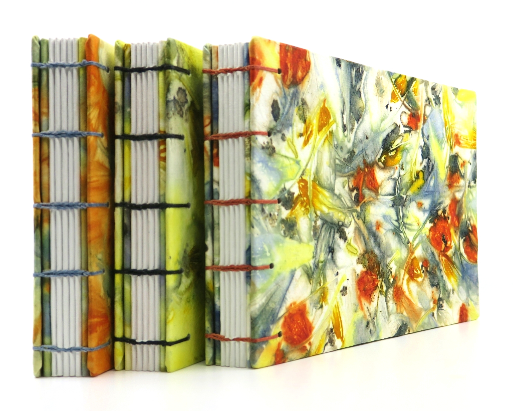 Ecoprinted Sketchbooks