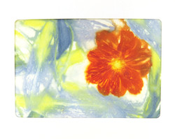 Ecoprinted Blank Note Card 3