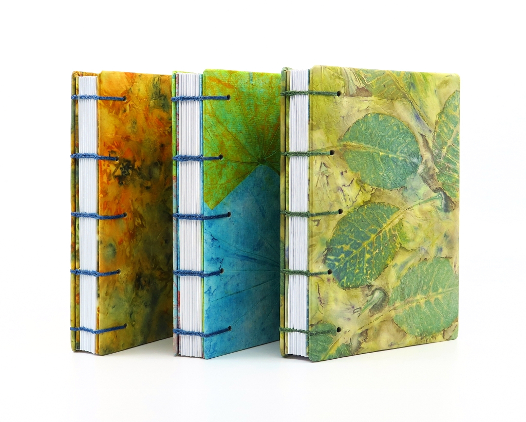 Ecoprinted Pocket Journals